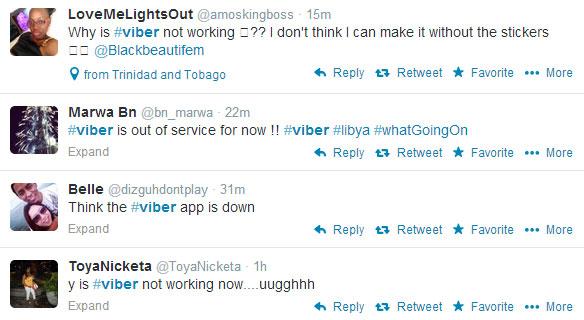 Viber tweets