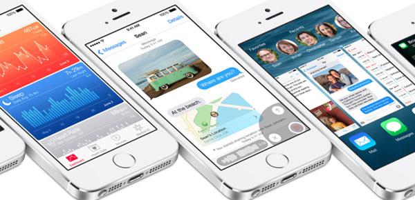 Apple iOS 8, Αλλαγές και νέα χαρακτηριστικά