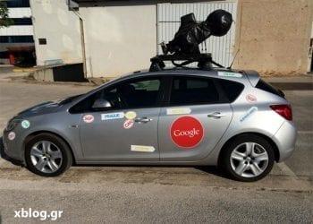 Google Street View Car στην Αθήνα