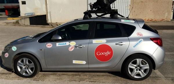 Το Google Street View Car στην Αθήνα