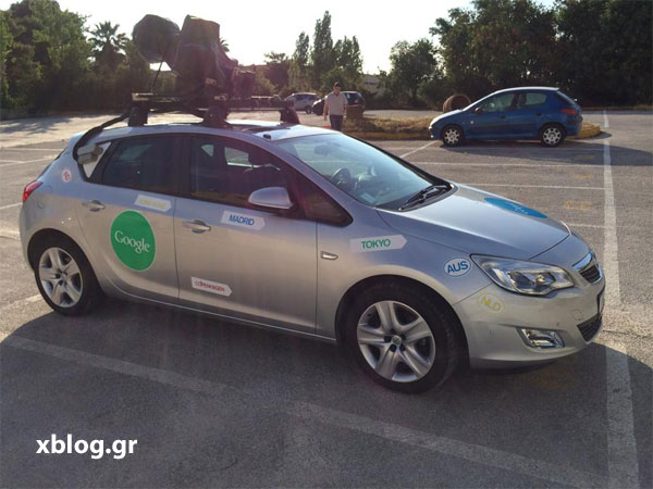 Google Street View Car στην Αθήνα