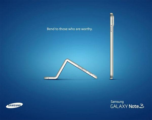 Τρολάρισμα Samsung στην Apple