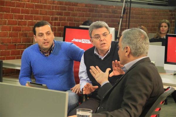 Πάνος Σκουρλέτης, Τάκης Χατζής, Νίκος Παναγιωτόπουλος