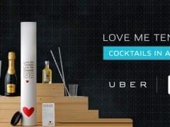 Valentine΄s Day: Cocktails το Uber, DUO και σαμπάνια το Taxibeat