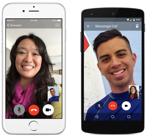 Facebook Messenger Video Calls