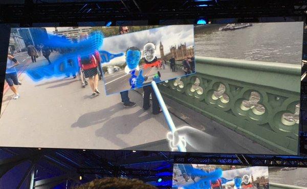 Facebook VR selfie stick