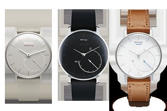 Τα έξυπνα ρολόγια Withings Activite