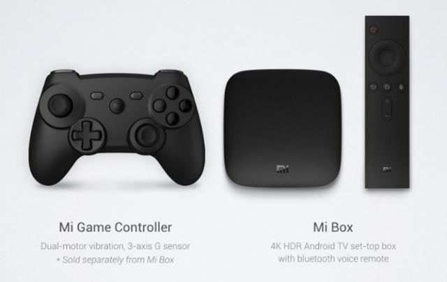 Xiaomi 4K Mi Box controllers