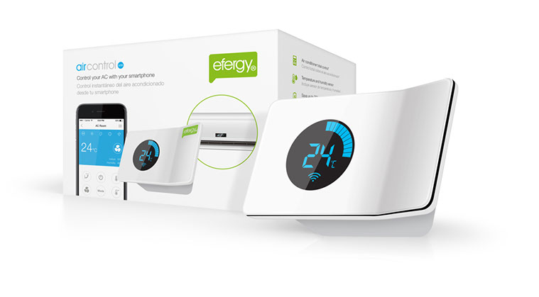 Efergy Aircontrol packaging