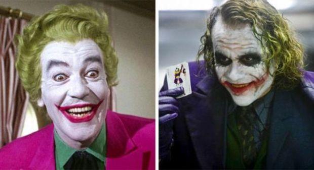 Joker 1966 and 2008