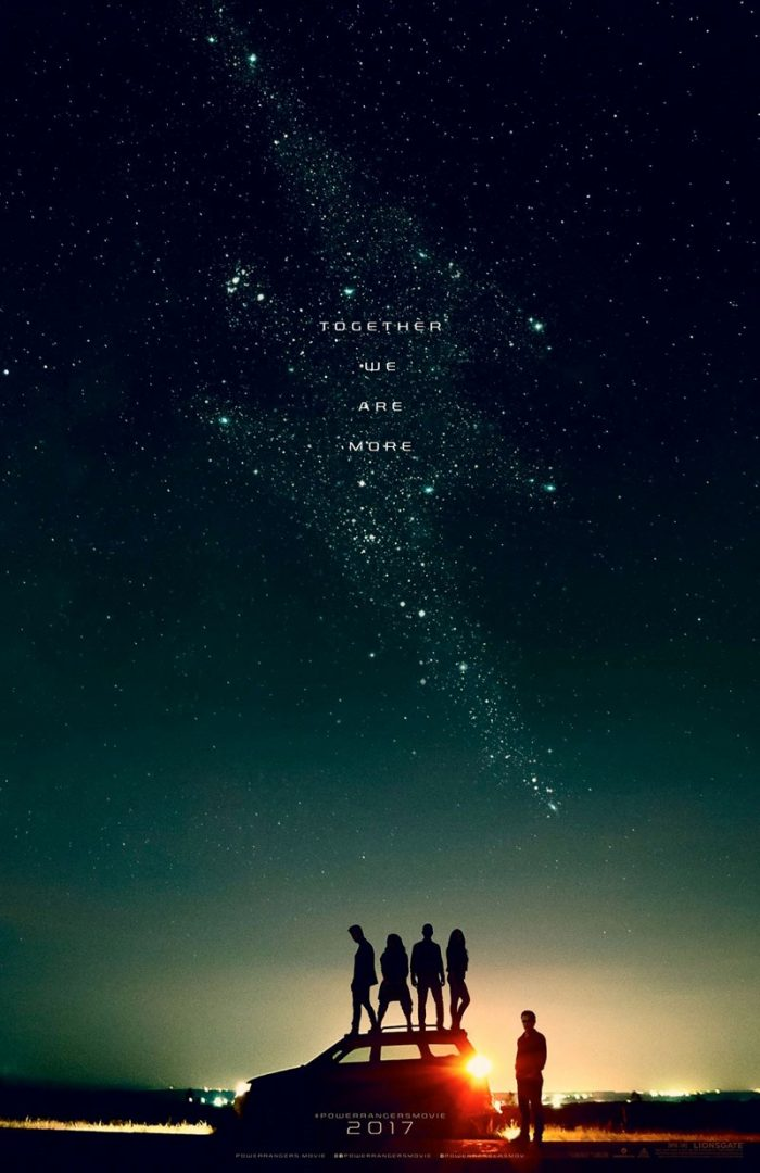 Power Rangers 2017 official poster