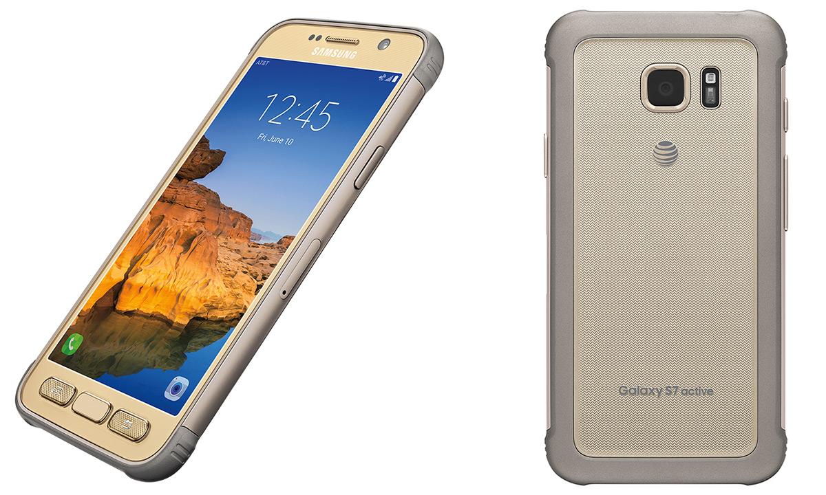 Samsung Galaxy S7 Active gold
