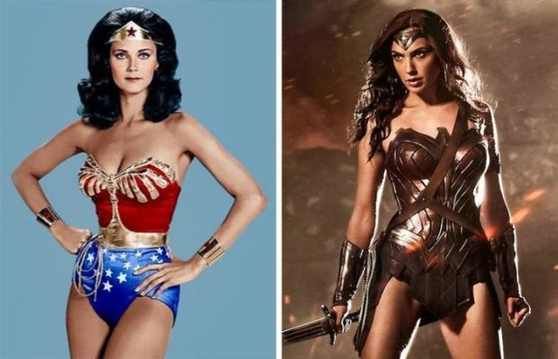 Wonder Woman 1975 and 2016