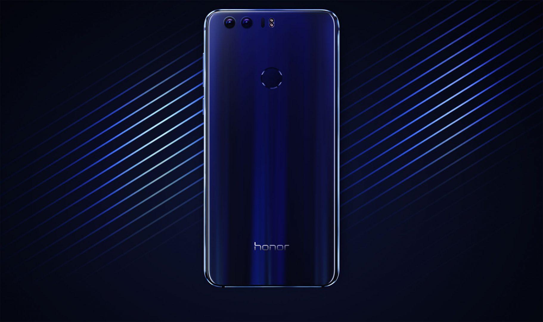 Huawei Honor 8 back