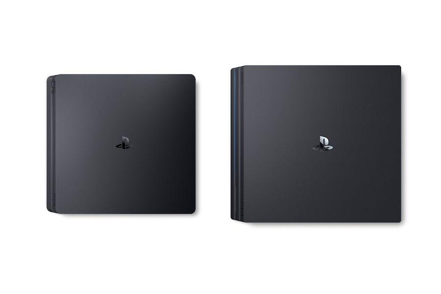 Sony PlayStation 4 Pro vs PlayStation 4 (Slim)