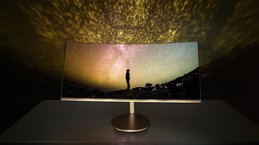Samsung Curved Monitor CF791
