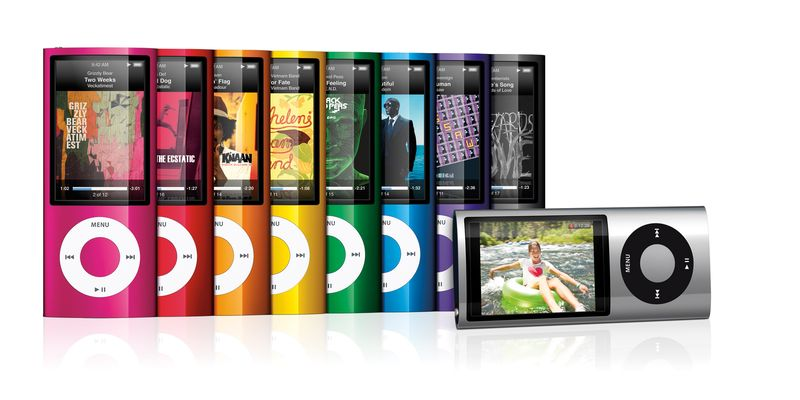 Apple iPod Nano (fifth generation) [2009]