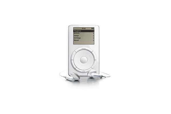 Apple iPod (first generation) [2001]