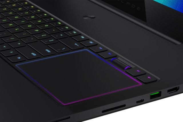 Razer Blade Pro touchpad