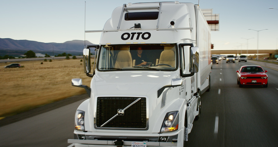 Uber OTTO truck
