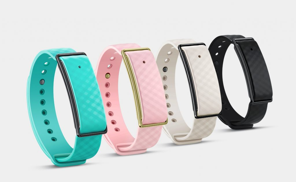 Huawei Color Band A1 colors