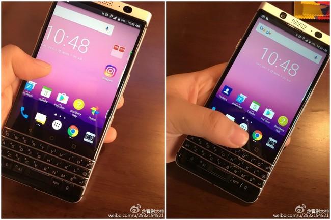 BlackBerry DTEK70 leak