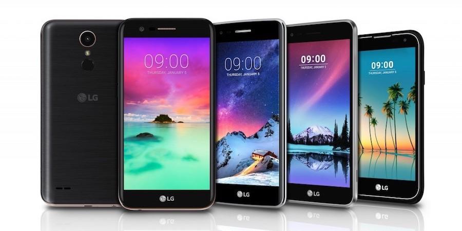 LG K Series 2017