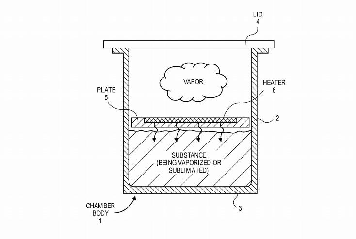 Apple vaporizer patent