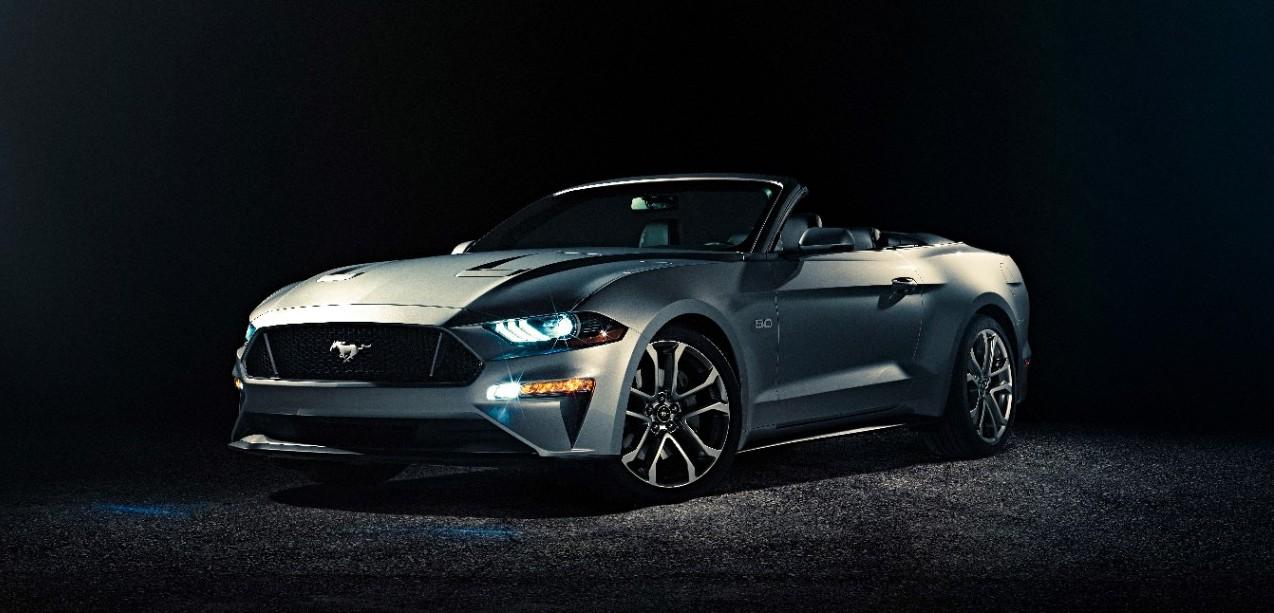 Ford Mustang GT Convertible Ingot Silver
