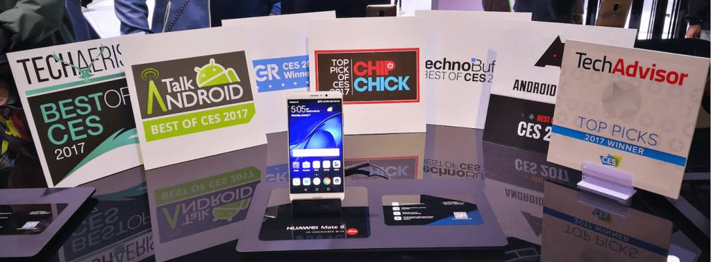 Huawei Mate 9 CES 2017 awards
