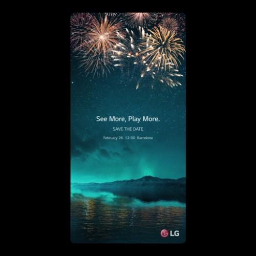 LG G6 MWC 2017 event