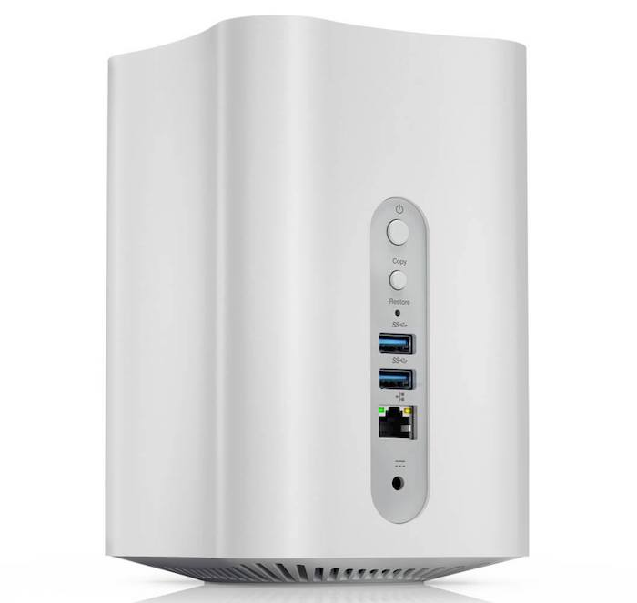 Lenovo Smart Storage back