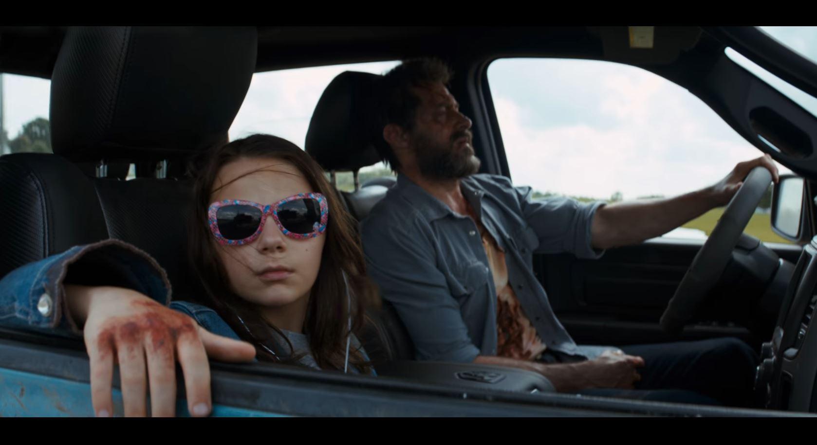 Logan trailer X 23 Wolverine