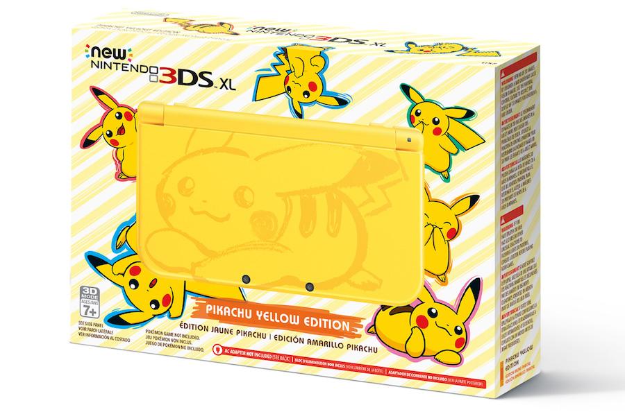 Nintendo 3DS XL Pikachu