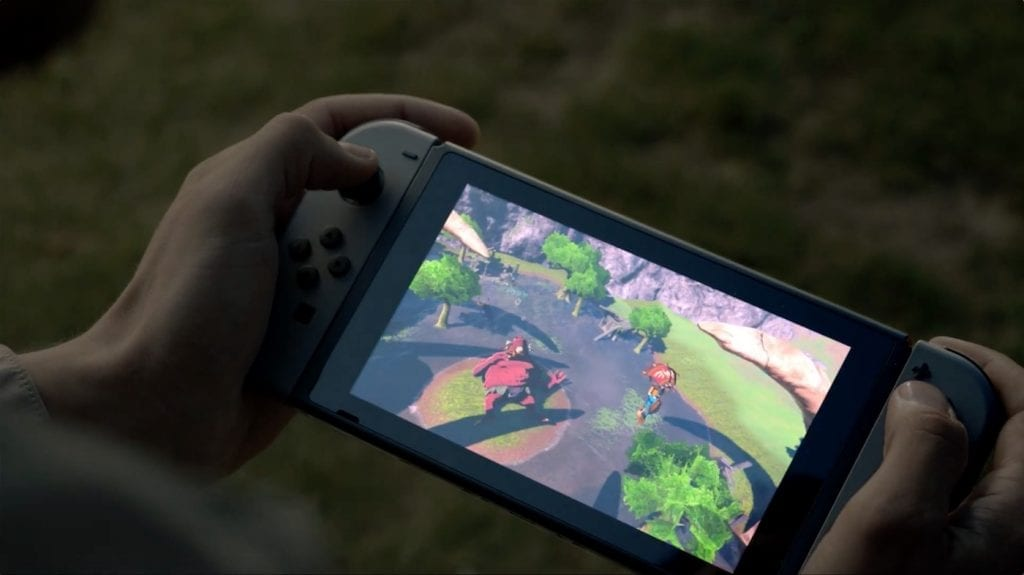 Nintendo Switch hands on