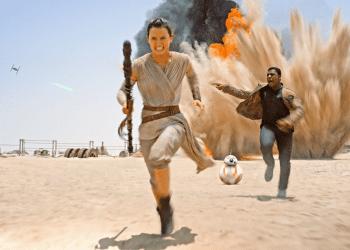 Star Wars The Force Awakens desert
