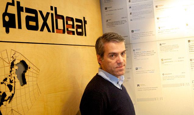 Taxibeat founder Nikos Drandakis
