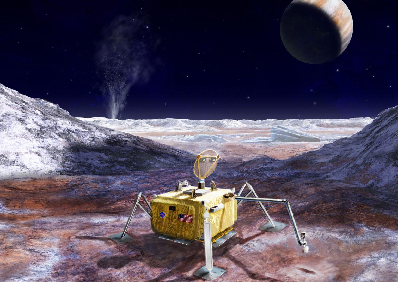 NASA Europe lander