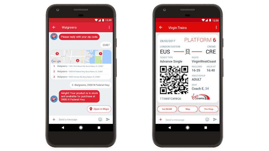 Google Android Messages SMS app