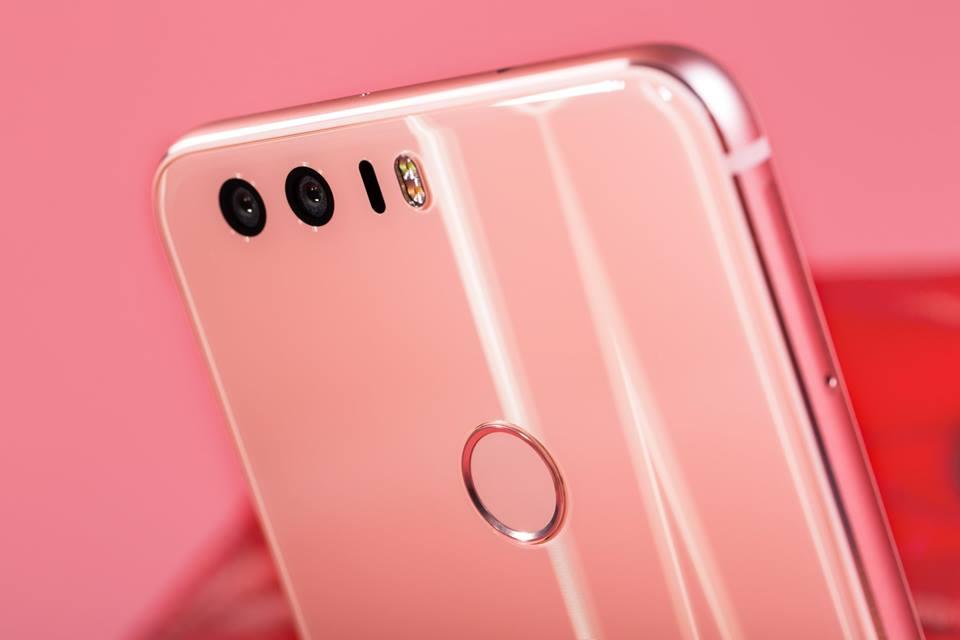 Huawei Honor 8 Pink back (3)