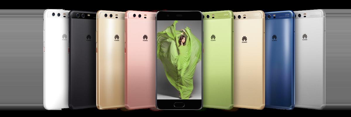 Huawei P10 group shot
