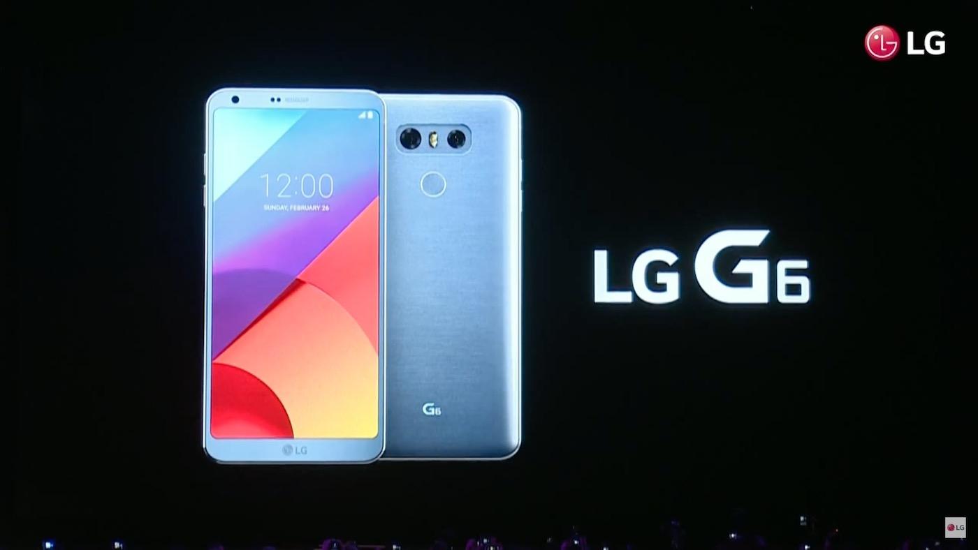 LG G6 announcement