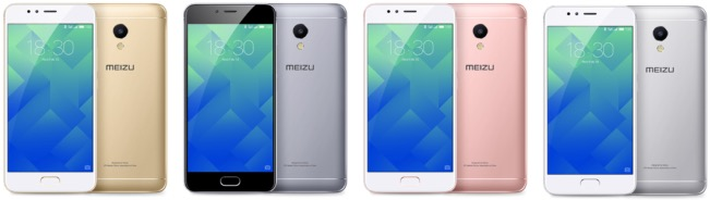 Meizu M5s colors