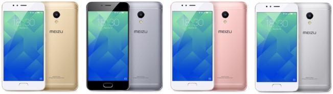 Meizu M5s colors