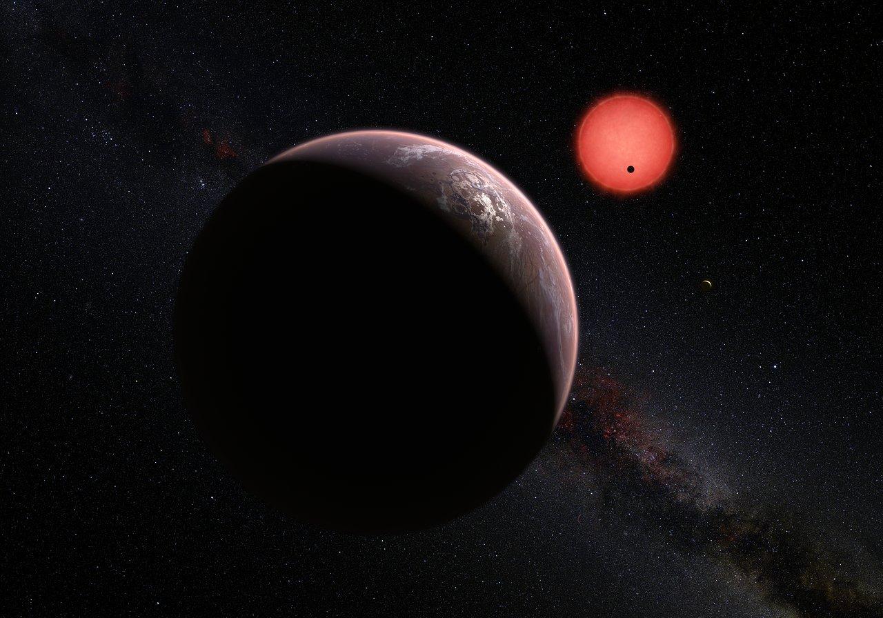 Trappist 1 planet