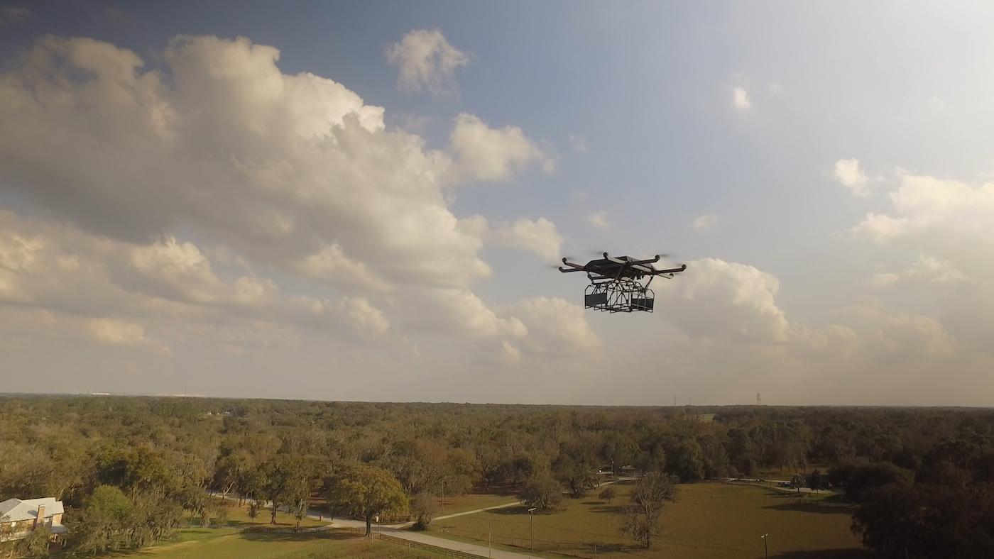 UPS Drone Delivery footafe 4