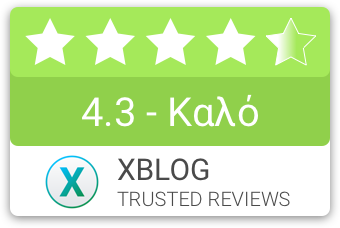 XBLOG.GR Review compact badge 4.3