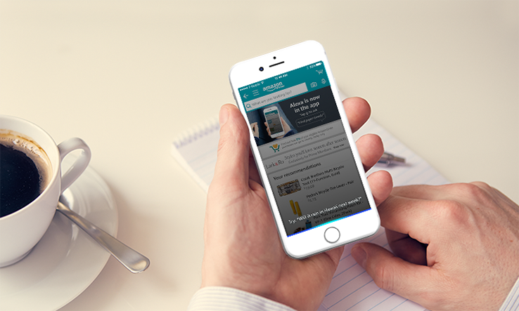 Amazon iOS app Alexa