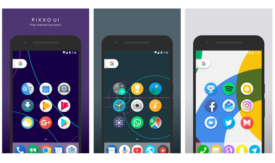 Android PIXXO UI icon pack sale