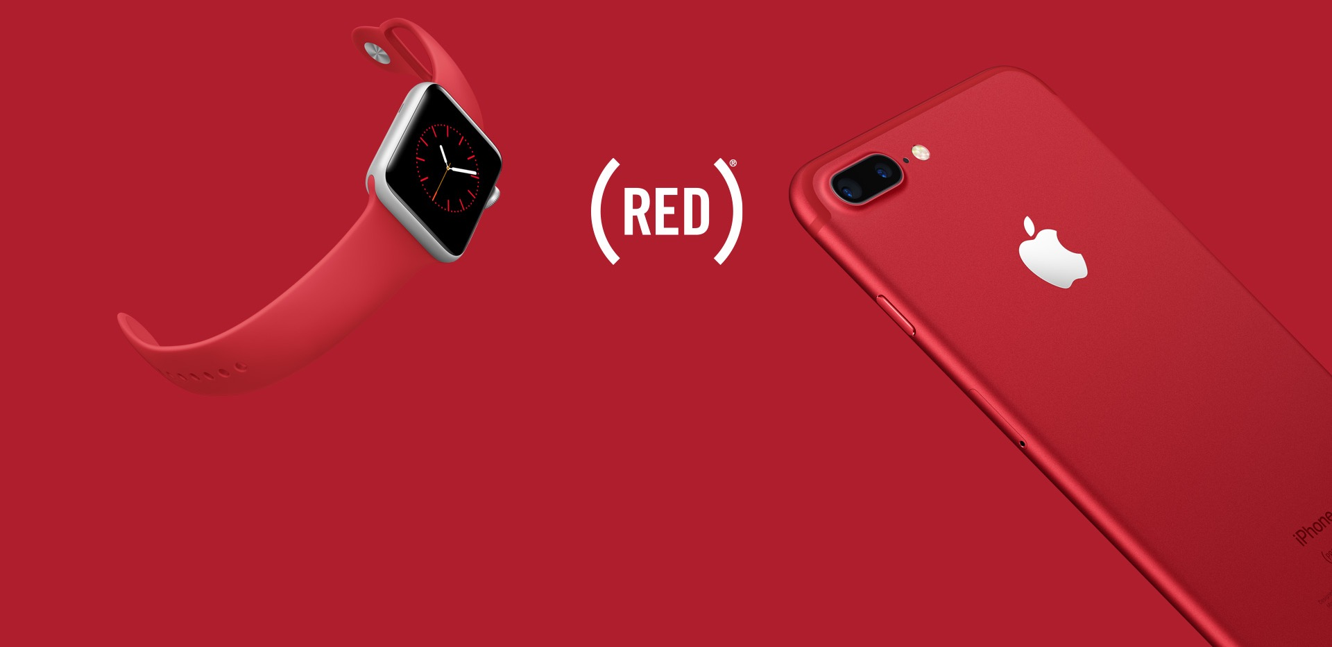 Apple PRODUCT RED iPhone Apple Watch
